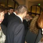 Carmen Adam schimba o vorba cu Carmen Iohannis.