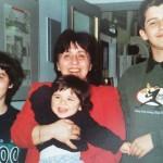 Dr. Adriana Marinescu cu fiii Sebastian şi Simon şi cu Anamaria Moraru-Fink