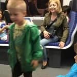 Cu metroul la Frankfurt