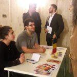 Anamaria Moraru-Fink,  Sebastian Marinescu und  Andreas Adam   beim Empfang