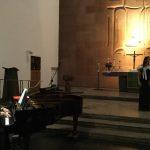 Sopran Géraldine Saba und Klavierdozentin Theodora Lungu