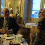 Hilde şi Ion Dumitru înainte de întâlnirea ARO
