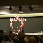 Akrobatik im Ledermuseum
