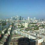 Vedere spre vest: centrul Frankfurtului