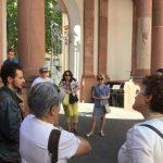 În incinta palatului Thurn und Taxis