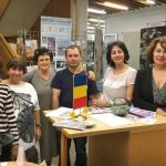 Danke an die Mitwirkenden: Arch. Delia Stieber (Poster), Dr. Adriana Marinescu (Finanzen), Cornelia Kaufmann (Buffet), Costel Danis (Saal), Brandusa Massion (Kommunikation), Antuanela Moraru-Fink (Presedinte), Kara Molnar (Arta)